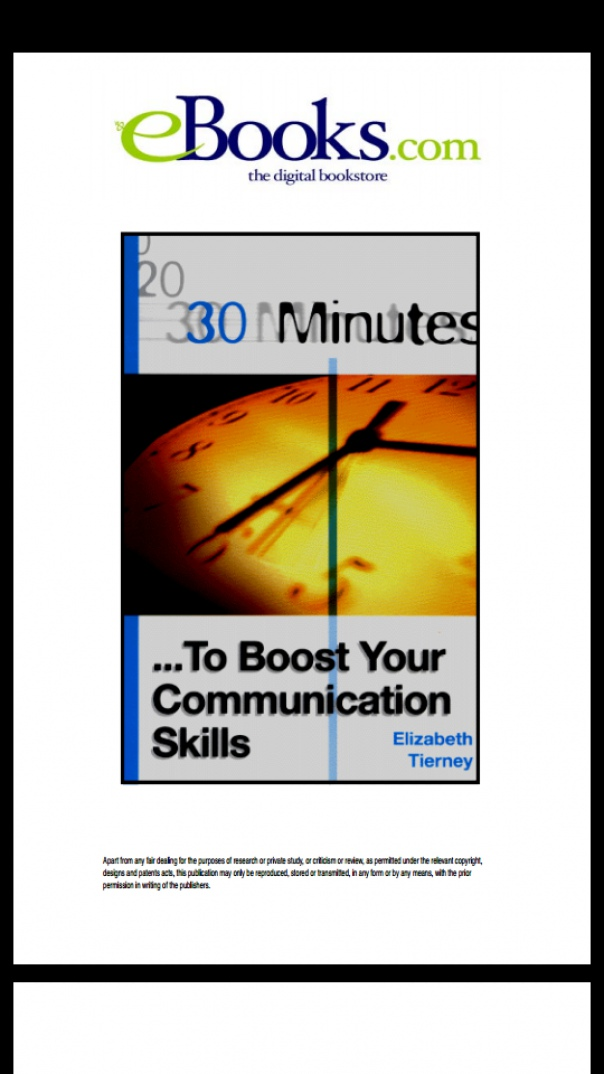 30 Minutes to Boost Your Communication