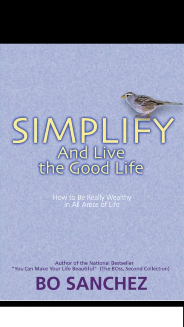 Simplify and Live The Good Life How