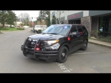 Federal Signal 2015 Ford Interceptor Demo