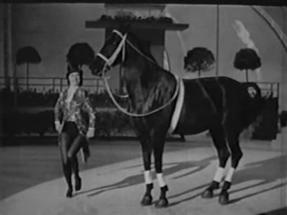 Eleanor Powell Tap Dance Finale (with a horse no less)