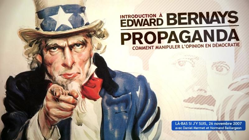 Introduction à Edward Bernays Comment manipuler l'opinion en démocratie