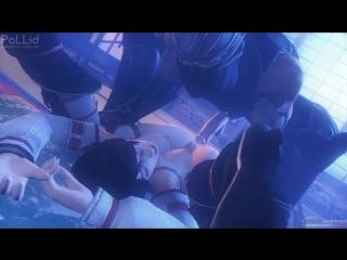 vk.com/watchgirls Rule34 Dead or Alive Momiji 3D porn sound