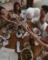 Darrin Bush on Instagram cheers to the ladies and @voguemagazine #inwoodangels #metgala @hoskelsa @andreeadiddy @mingxi11 @constancejablonski @_...