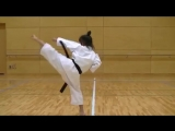 7 Year Old Girl Karate Master _ Incredible Kankudai Demo