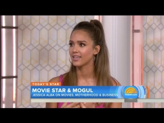 Jessica Alba Talks 'Mechanic  Resurrection,' Defends Honest Company ¦ TODAY
