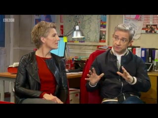Martin Freeman and Tamsin Greig on new political play 'Labour of Love'