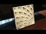 Scroll saw fretwork ornament