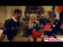 My Family Pies - Horny Sisters Get Brothers Cock For Xmas