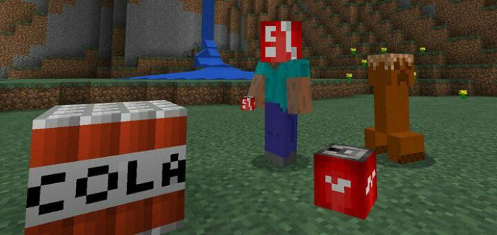 Аддон Mint&Cola для Minecraft PE
