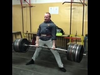 Дмитрий Инзаркин - тяга 350 кг