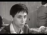 Улицы ждут пустые - Первый троллейбус, поет - Владимир Трошин (в кадре Олег Даль) 1963