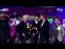 I JUST NOTICED THAT NAMJOON WANTED TO PASS THE TROPHY TO SEOKJIN WHO TOLD YOONGI TO HOLD IT WHO POINTED TO JIMIN I CANT BREATHE