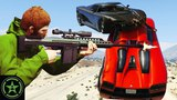Let's Play - GTA V - More Stunters VS Snipers with Buckley and Lazarbeam