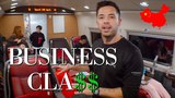 Chinese Bullet Train BUSINESS CLASS &amp 1ST CLASS Review!