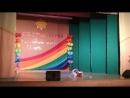 """Стилизованный русский народный танец """"Ласточка"""" Смагина Лиза 3 А класс"""