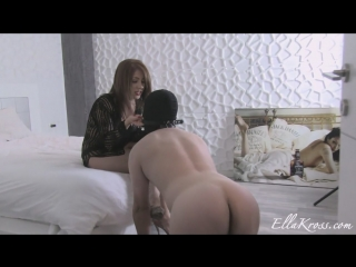 Ellakross - slave becomes human toilet paper after i s..t
