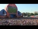 Фанаты смотрят матч Уругвай - Россия