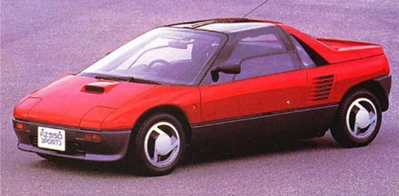 700 килограммов ярости редкого спорткара Autozam AZ-1, который и Suzuki, и Mazda., изображение №8