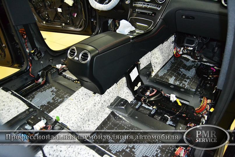 Шумоизоляция Mercedes Benz GLC, изображение №10