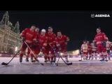 Путин сыграл в хоккей на Красной площади [1080]