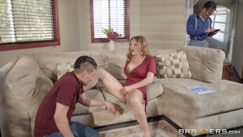 Krissy Lynn ( Laying Carpet) 2018, Big Tits, Bubble Butt, Handjob, MILF, Wife,