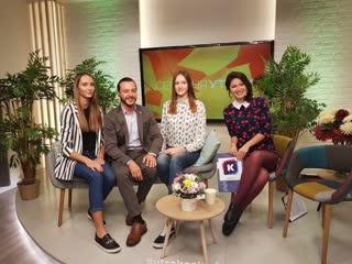 Валерия Шевчук и Юлия Бровкина в эфире телепередачи