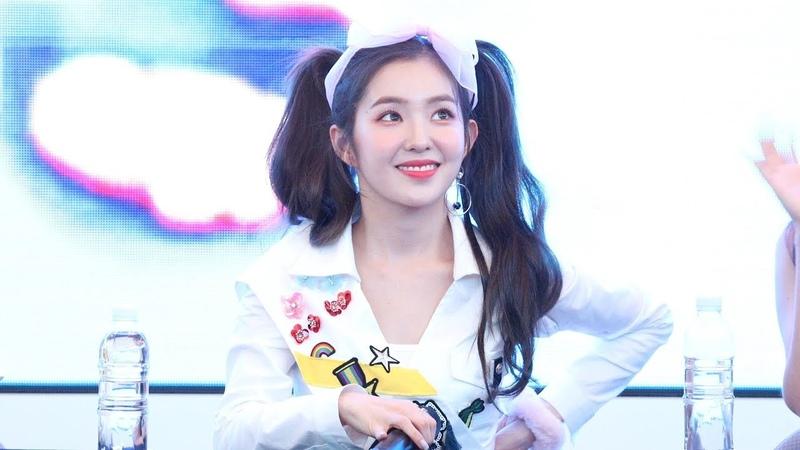 4K 180818 Red Velvet 레드벨벳 아이린 Summer Magic 미니앨범 팬사인회 클로징 스타필드 고양 직 5289