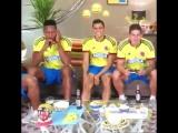 Йерри, Хамес и сборная колумбии играет в FIFA