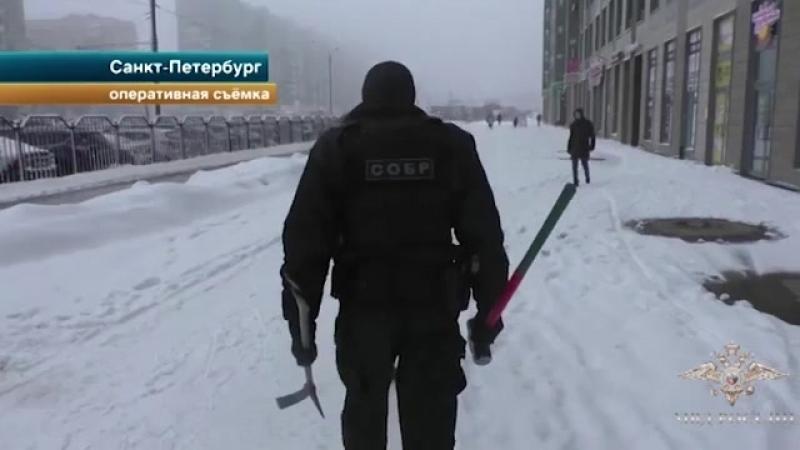 ТК РЕН ТВ - Сотрудники СОБР оказали силовую поддержку полиции в задержании участников организованной группы
