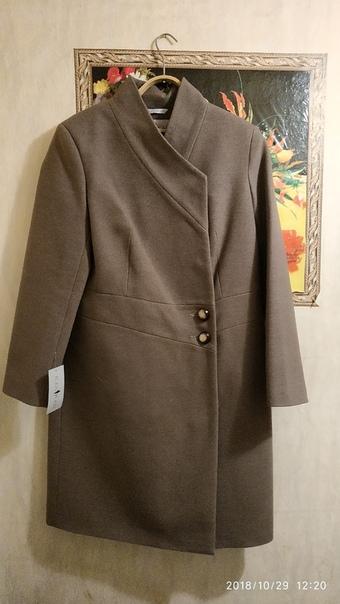 Пальто новое, размер 50
