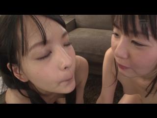Когда молоденькая сестренка японка с подругой пригласили на тройничёк / азиатка минет секс школьницы в сперме MIDE-393_part2