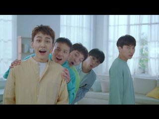 [CF] 14.04.2018: BTOB - Green Tea Watery Cream @ TONYMOLY