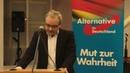 Marc Bernhard AfD Bundestagskandidat Eröffnungsrede zum Thema Asylchaos vom 20 02 17