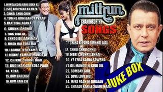 Mithun Chakraborty | Super Hit Songs Juke Box | Bollywood Movies |