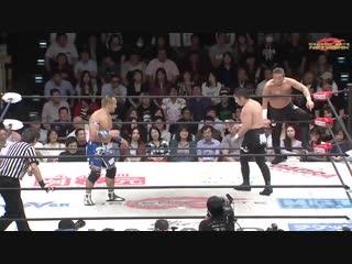 Don Fujii, Ryo Saito vs. Gamma, Genki Horiguchi (Dragon Gate - The Gate of Victory 2018 - Day 1)