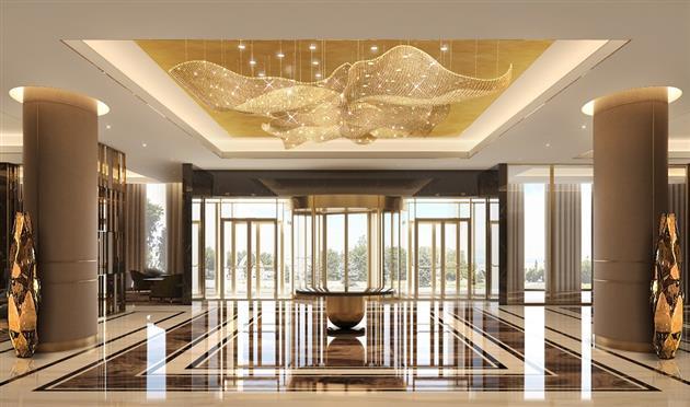 Холл на первом этаже, источник фото