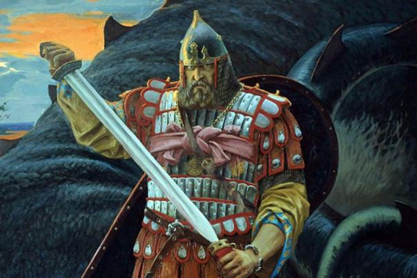 добрыня никитич русский богатырь добрыня никитич – главный былинный змееборец, второй по силе и удали из знаменитой троицы. прошел огонь и воду плечом к плечу сильей муромцемиалешей