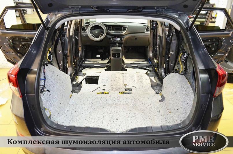 Шумоизоляция Hyundai Tucson, изображение №12