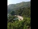 Вид на море Най Харн с холма Пхукет