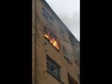 Съемки пожара 5 минут тишины