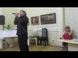 Встреча с артистами Владимиром Дяденистовым и Ксенией Зуден. 03.04.2018 г. ф-м 15