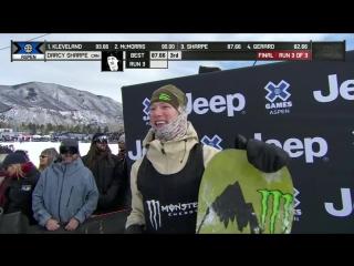 Darcy Sharpe wins Men's Snowboard Slopestyle silver _ X Games Aspen 2018