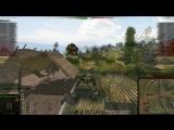 Первый лагающий бой на Tiger (P) на патче 1.0