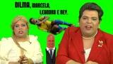 Dilma enquadra Neymar (Brasil x M