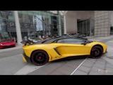 Lamborghini Club Arrival For Aventador S Launch