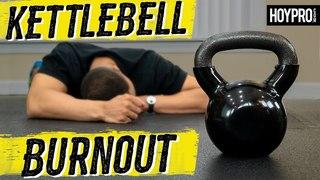 Millionaire Hoy - Brutal Kettlebell HIIT Workout for Fat Loss | Супер-интенсивная тренировка с гирей (можно использовать гантель)