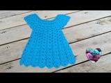 Robe en relief magnifique crochet 12 Vestido en relieve tejido a crochet