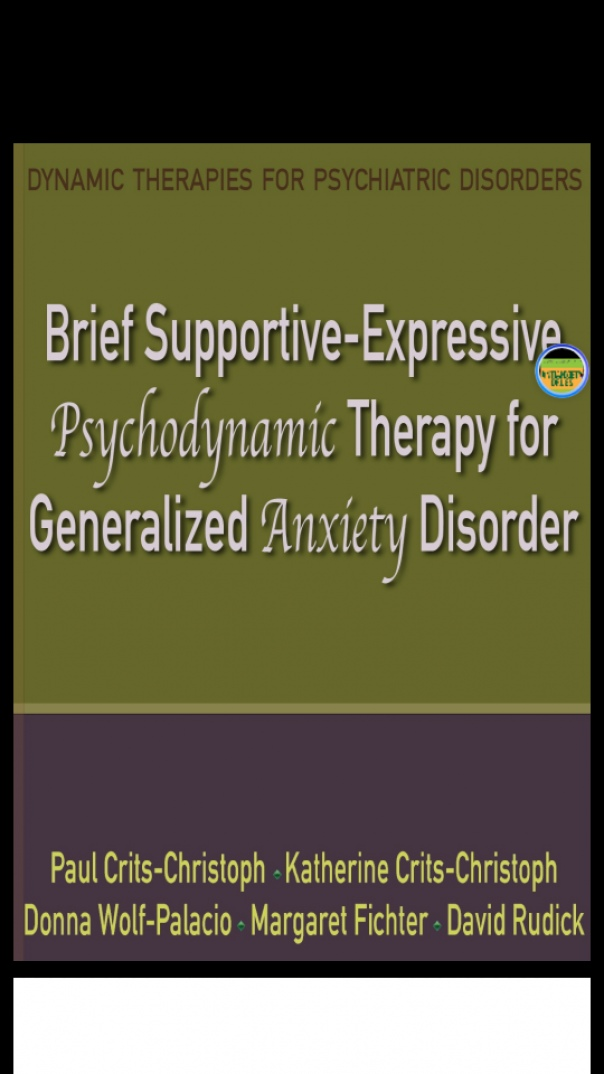 brief supportive-expressive psychodynamic therapy for generalized anxiety d