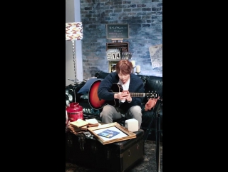 hoon(from u-kiss)backstage『bed time story』@