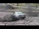 W124 Mercedes Diesel Turbo Burnout Hedemora Sweden